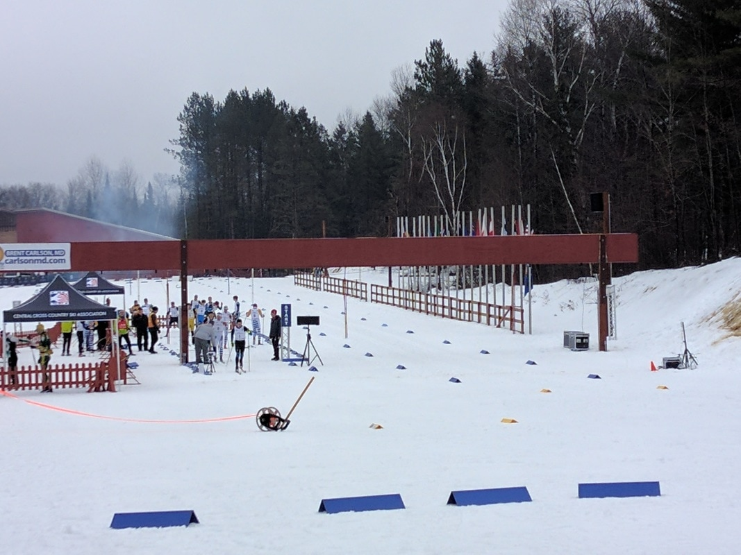 cable mw/gld jnq & cxc youth cup - copper country ski tigers